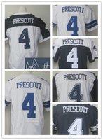 anti choice - 2016 NEW Prescott Signed Jerseys Dak Prescott blue white thanksgiving day Stitched Elite Jerseys Choice Free Drop Shipping Mix Order