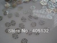 Wholesale MS Metal Silver Nail Art Metal Sticker Nail Art Decoration Fancy Outlooking sticker albums for collecting stickers