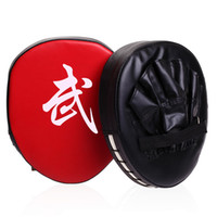 Wholesale 1PC Boxing Mitt Training Target Focus Punch Pads Gloves Strike Target Taekwondo MMA Karate Muay Thai Kick Martial Arts Combat MD0050
