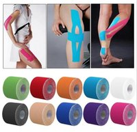 Wholesale Roll m x cm Kinesiology Sports Muscles Care Elastic Physio Therapeutic Tape