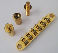 Wholesale Gold Roller Tune o Matic Bridge for LP Guitar