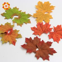 arts crafts books - Hot Sale Artifical Maple Leaves Fake Autumn Fall Leaf Wedding Party Decoration Craft Art Home Bedroom Wall Book Decor