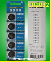 Wholesale 1000packs CR2032 button cell battery V lithium coin cells