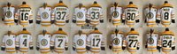 Wholesale Cheap NHL Men s Boston Bruins CCM Throwback White Ice Hockey Jerseys Patrice Bergeron Zdeno Chara Phil Esposito etc All Stitched