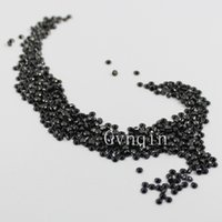 Wholesale 1000pcs AAA mm mm cubic zirconia black round loose gem stones