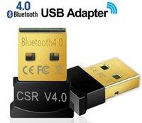 Wholesale Mini USB Bluetooth Adapter V Dual Mode Wireless Dongle CSR USB For Windows Win Vista XP Black