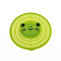 Wholesale 1 pc sink strainer lovely animal shape hair stopper bath catcher sink drain kitchen tools bathroom supplies Y