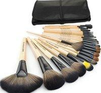 badger case - Professional Makeup Brush Set Make up Toiletry Kit Wool Brand Make Up Brush Set Case Free DHL
