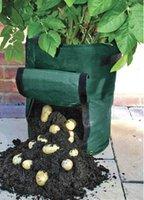 Wholesale PE bags of potato cultivation planting vegetable planting bags Grow Bags Garden Pots Planters