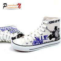 bad medium - Michael Jackson flat shoes bad billie jean style size casual shoes for man and woman shoes F0198