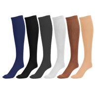 Wholesale Long Compression Socks Unisex Sports Socks Blood Circulation Socks Running Knee High Socks Color Packing Slimming Socks