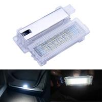 b w doors - 2PCS Error Free LED Courtesy Footwell Under Door Light for B M W series E87 E90 E92 E93 F10 E60 E61 F10 X1 X3 X5 X6 Z4