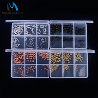 ball assortment - Maxcatch Ball Beads Assortment mm Four Colors Fly Tyiing Beads With Plastic Box