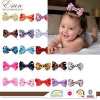 Wholesale Europe beautiful bow hair hand children hair ornaments to spread the source of foreign trade goods