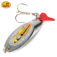 bass lure kits - 20piece Fishing Metal Spoons Lures Treble Hook Tackle Box Kit Spinner Bait Bass g cm
