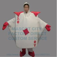 adult playing cards - high quality playing cards mascot costume adult size customizable cartoon Poker CARDS theme carnival fancy dress kits