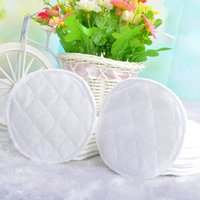 Wholesale 3Layers Washable Breast Pads Reusable Nursing PURE COTTON Breastfeeding Pad L00088