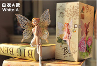 angle figurines - DOOD originality Home Furnishing decoration angle Crafts Ornament Lovely figurine doll Cupid Flower Fairy Resin Small ornaments
