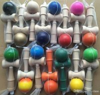 Wholesale 15 Colors CM Kendama Ball Japanese Traditional Wooden Toys Education Gifts Novelty Toys Women Kids Toys FedEx