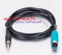alpine antennas - by dhl or ems Car mm Alpine AUX Jack Cable KCE B NEW Part MP3 Smart Phone Gold Plug mm Alpine Antenna