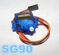 Wholesale SG90 g Mini Micro Servo Steering Gear Align Airplane Car Motors For RC Model Helicopter