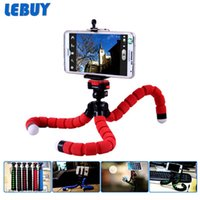 accessories adjustable legs - LEBUY Smartphone Holder Flexible Octopus Leg Tripod Bracket Mount Monopod Adjustable Accessories For iPhone S All Phone ZJ18