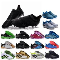 Wholesale OriGInal Mens Football Boots ACE PureControl FG AG Pure Chaos Control Soccer Shoes for men X PureChaos Soccer Cleats MessI PureAgility