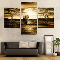 Cheap painted flowers painting Best oil canvas landscape