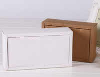 Wholesale Factory outlets can be printed logo Kraft paper Packing boxes Clamshell Paper box cm