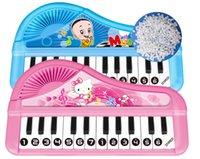 Wholesale Cartoon pattern Keyboard Electronic organ musical instrument toys game
