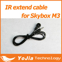 Wholesale 1pc IR extend remote cable for Original Skybox M3 satellite receiver IR remote cable post order lt no track