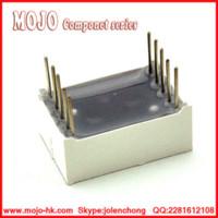 Wholesale 1 Bit Common Cathode Digital Tube quot in Red LED Digit Segment Shell led shell