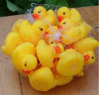 baby sound good - 4000Pcs Good Quality Baby Bath Water Mini Duck Toy Sounds Yellow Rubber Ducks Kids Bath Small Duck Toys Children Swiming Beach Gifts