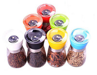 Wholesale Manual pepper mill Universal seasoning bottle Milling Pepper pot Kitchen supplies