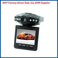 Wholesale Car dvr recording h198 HD P Infrared Board Angle Night Vision Mini Protable Car Dvr Cycle Recording G sensor