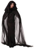 adult wicked witch costume - 2016 Gothic Witch Halloween Costume Sorceress Costume Adult Witch Fancy Dress Witch Wicked Sexy Cosplay Lingerie