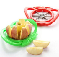 abs cutters - Apple cutter knife Corer Slicer Divider Fruit Knife For Apple Pear Stainless Healthy Safe ABS Kitchen Dining Bar tools drop shipping
