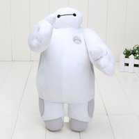 big robots - Retail New Big Hero Baymax Robot Hands Moveable Stuffed Plush Animals Toys inch cm Christmas Gfit for kids