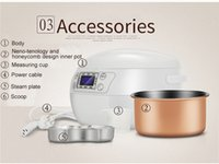 Wholesale 1 litre smart rice cooker with nano inner pot cooking rice porridge soup yogurt OUSHIBA N7