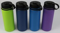 Wholesale 18oz oz oz Custom Colorful Hydro Flask Sports Bottle Double wall vacuum insulated stainless steel water bottle