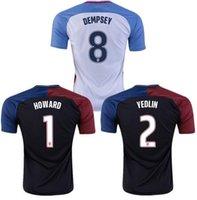 adult soccer clubs - 2016 soccer Jerseys club USA Short Sleeve Adults SOCCER Jersey Camisa Shirt Camiseta Maillot