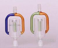Nouveau Bongs en verre Accessoires Ashcatcher Glass Percussions Catcher Cendrier 8mm Tubes d'eau de verre Mini Bong Smoking Pipes Narguilés
