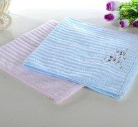 bath washing machine - Bamboo fiber Cotton fabric Absorbent Children Towels cm Washcloth Bathroom Towel machine wash
