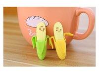 banana supplier - Creative earsers correction suppliers banana earsers for students cartoon earsers