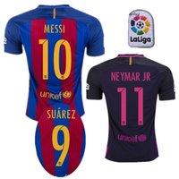 barcelona player - Player Version Pink Fonts Barcelona jersey Messi Neymar jr A iniesta Suarez Arda Soccer Jerseys Thai Quality Barce Football Kits