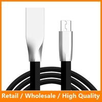 apple zinc - 3D Zinc Alloy Fast Charging Data Sync Mirco and Lightning USB Cable for Samsung s7 s7 edge Note Andriod Phone Cable
