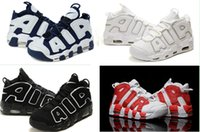 Wholesale Men Basketball Shoes Air More Uptempo Women Training Shoes Pippen Hot Sale fashion Sneakers Cheap Mens Sports Shoes Lowest Price