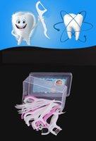 Wholesale In Stock Box Dental Floss Interdental Brushes Teeth Stick Plastic Toothpicks pick Floss Pick Oral Hygiene DHL