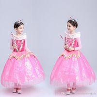 baby girl cinderella - Girls Dresses girl long sleeves Fall dress girl party dress Cinderella dress baby girls Kids Clothes Children