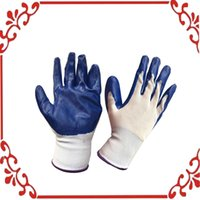 Wholesale Gardening Nitrile Gloves Abrasion Resistance Protection against Oils Pairs
